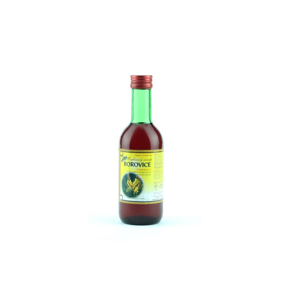 Bylinkový sirup - borovice - Klášterní officína 250ml