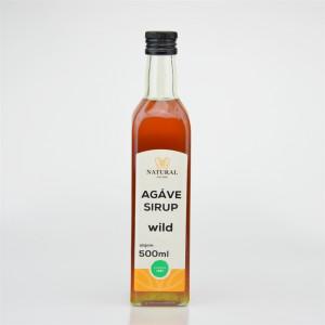 Agáve sirup wild - Natural 500ml