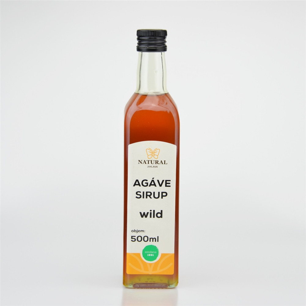 Agáve sirup wild - Natural 500ml