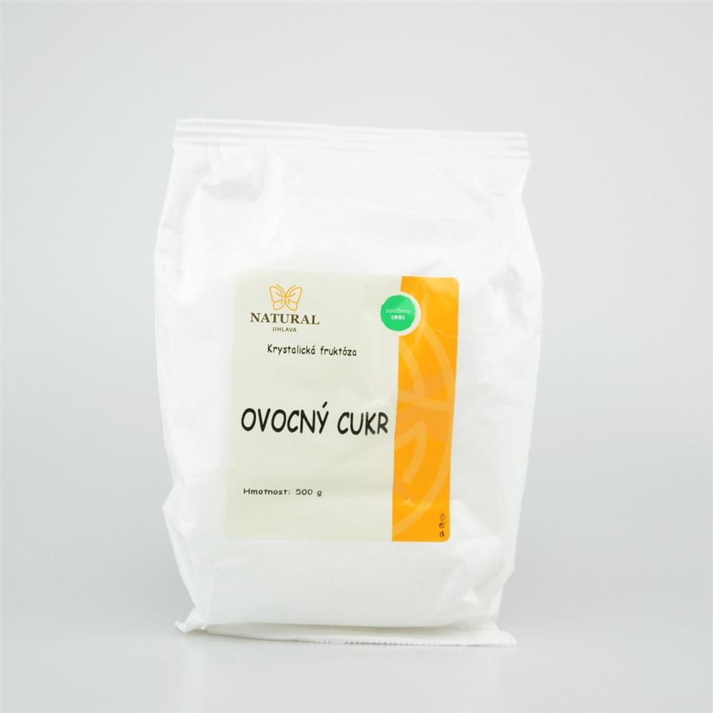 Cukr ovocný - fruktóza - Natural 500g