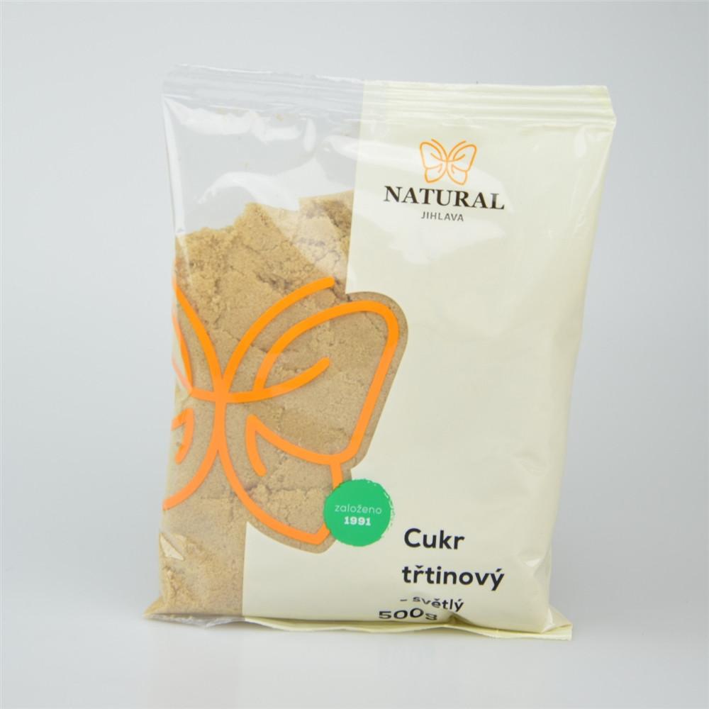 Cukr třtinový světlý jemný - Natural 500g