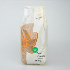 Cukr třtinový tmavý - Natural 1000g