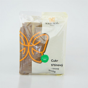 Cukr třtinový tmavý jemný - Natural 500g