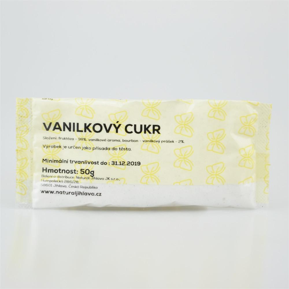 Cukr vanilkový s fruktózou - Natural 50g