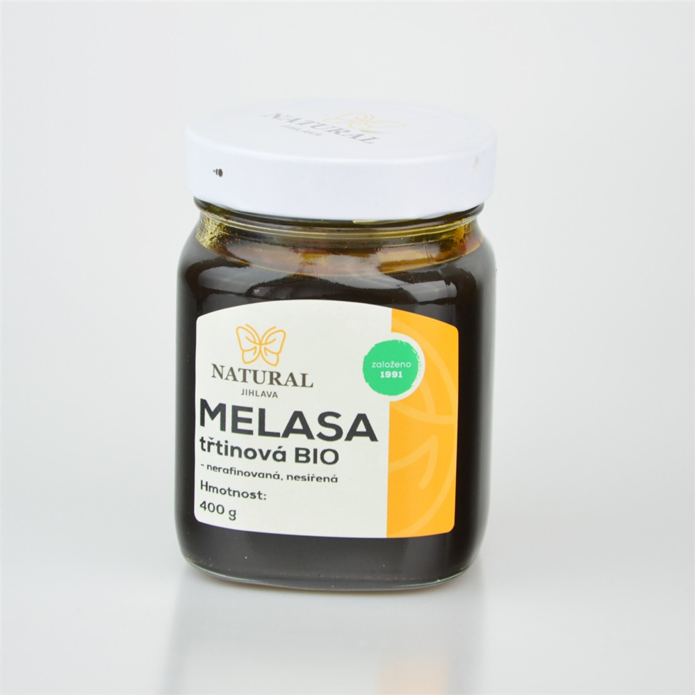 Melasa třtinová BIO - Natural 400g