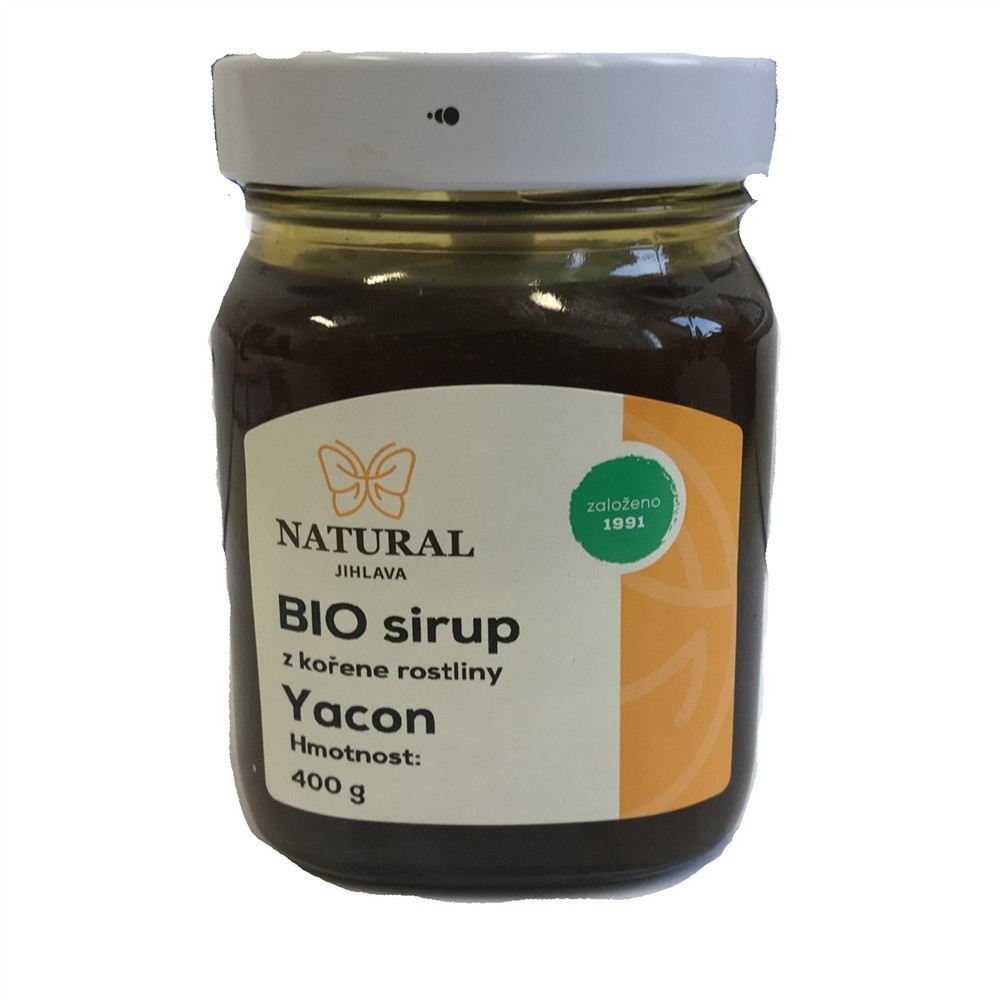 Sirup z kořene rostliny Yacon  BIO- Natural 400g