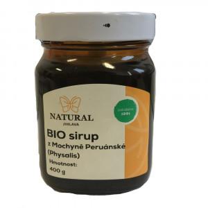 Sirup z Mochyně Peruánské (Physalis) BIO - Natural 400g