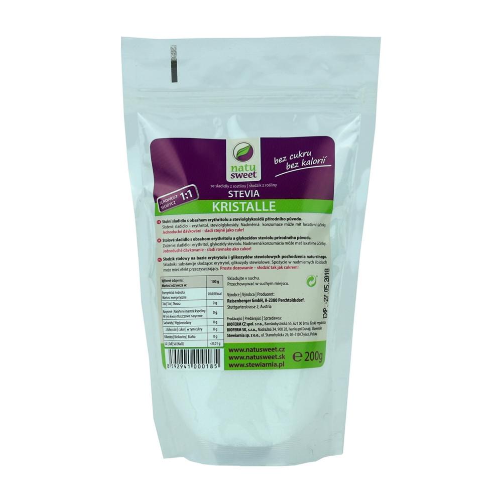 Stevia krystal - Natusweet 200g