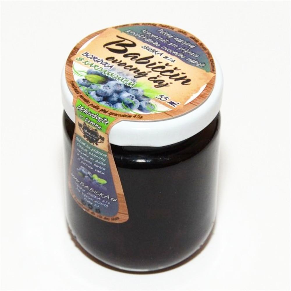 Babiččin ovocný čaj - borůvka s kardamonem 60ml