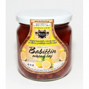 Babiččin ovocný čaj - citron se zázvorem 420ml