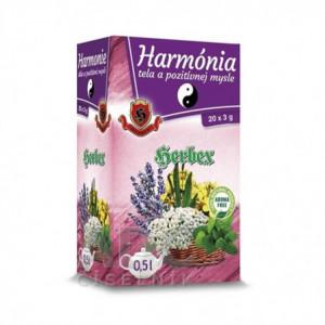 Čaj Harmonie těla a pozitivní mysli - Herbex 20x3g
