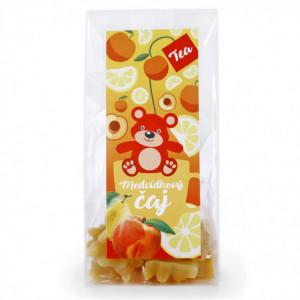 Čaj medvídkový s příchutí broskve a citronu - Lipoo 50g
