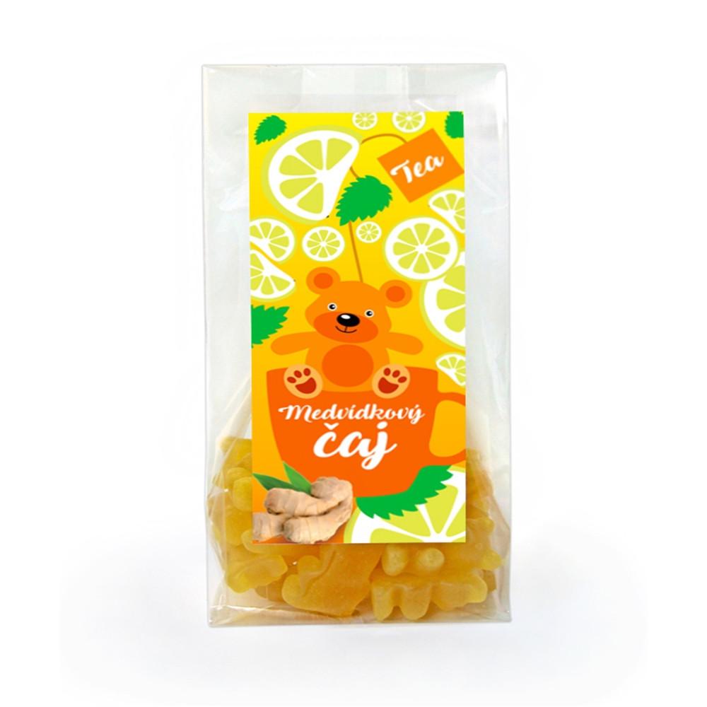 Čaj medvídkový s příchutí citrónu a zázvoru - Lipoo 50g