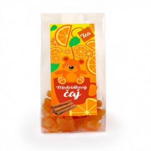 Čaj medvídkový s příchutí skořice a pomeranče - Lipoo 50g