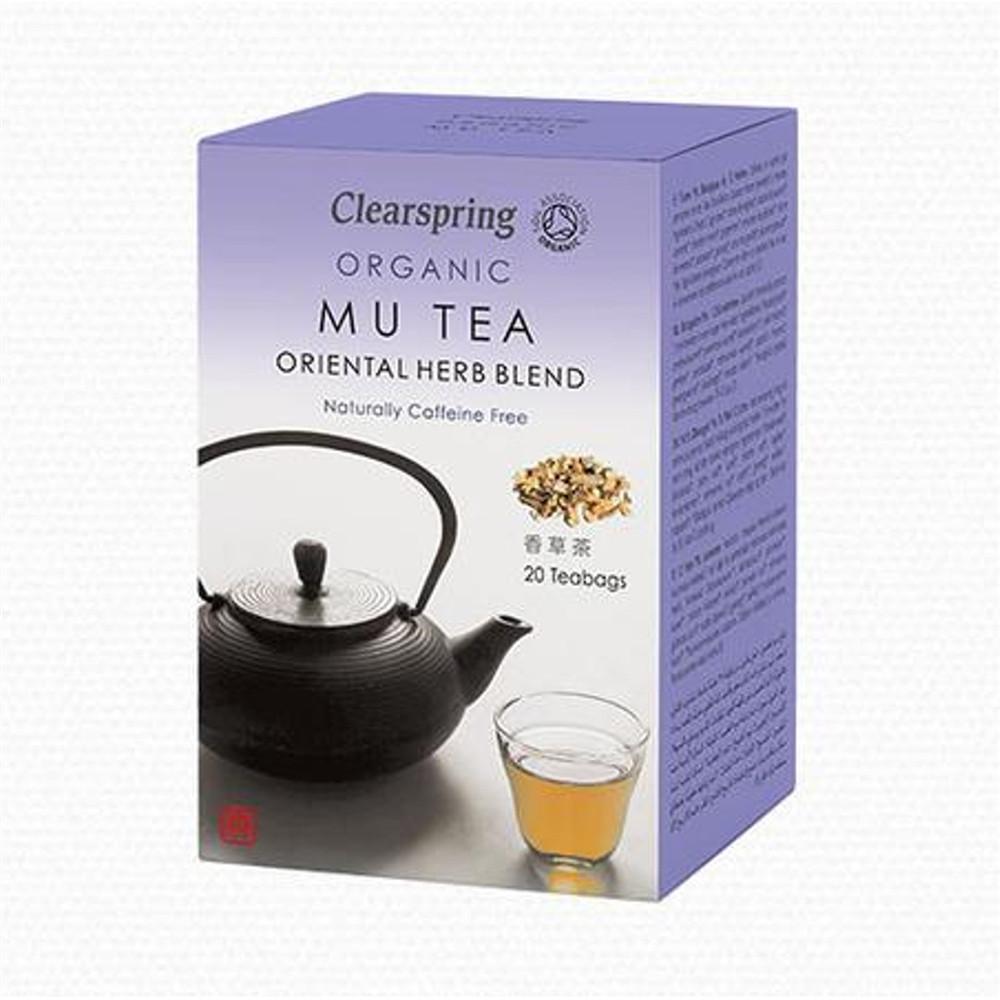 Čaj MU TEA BIO - Clearspring 20x2g