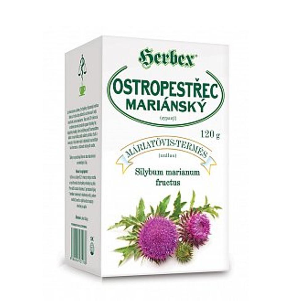 Čaj ostropestřec mariánský - Herbex 120g