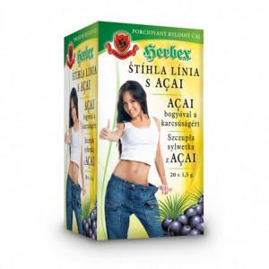 Čaj štíhlá linie s Acai - Herbex 30g