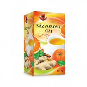 Čaj zázvorový pomeranč - Herbex 40g