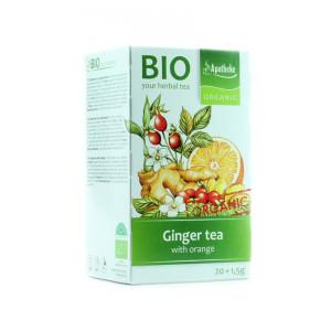 Čaj zázvorový s pomerančem - Apotheke 30g