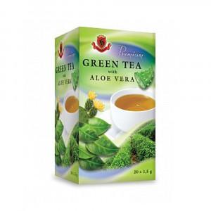 Čaj zelený s aloe vera - Herbex 30g