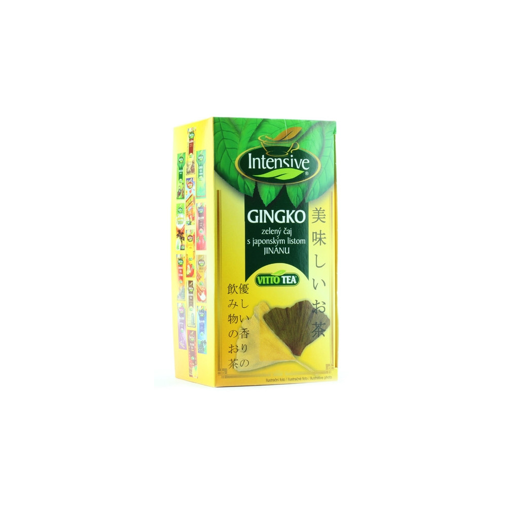 Čaj zelený s gingo - Vitto Tea 30g