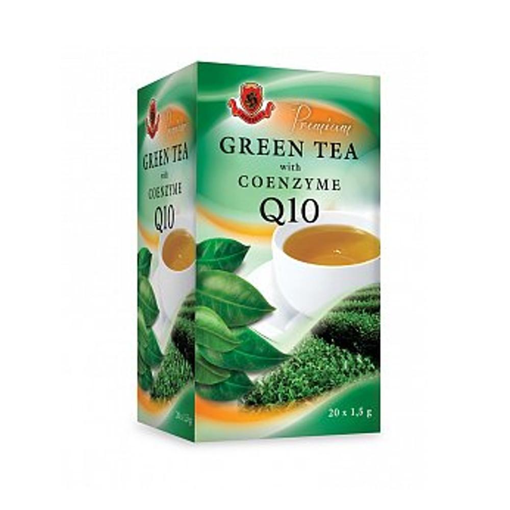 Čaj zelený s koenzymem Q10 - Herbex 30g