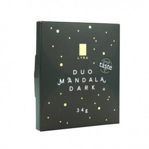 Čokoláda - DUO MANDALA DARK 34g