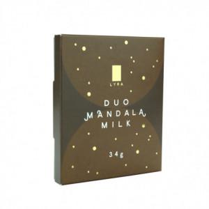 Čokoláda - DUO MANDALA MILK 34g