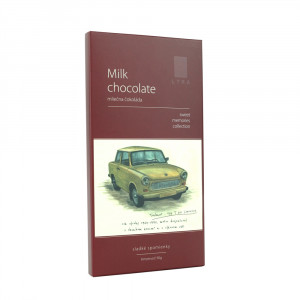 Čokoláda - MILK CHOCOLATE TRABANT 90g