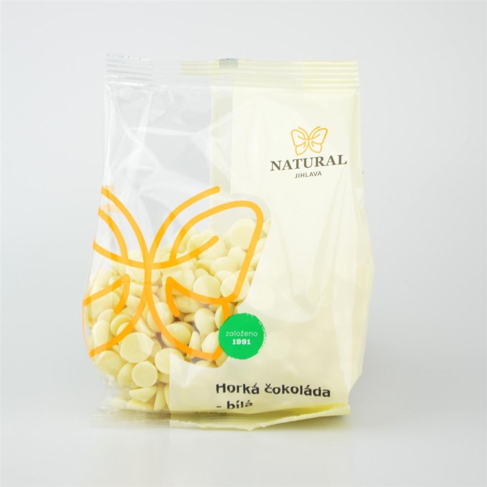 Horká čokoláda bílá - Natural 250g