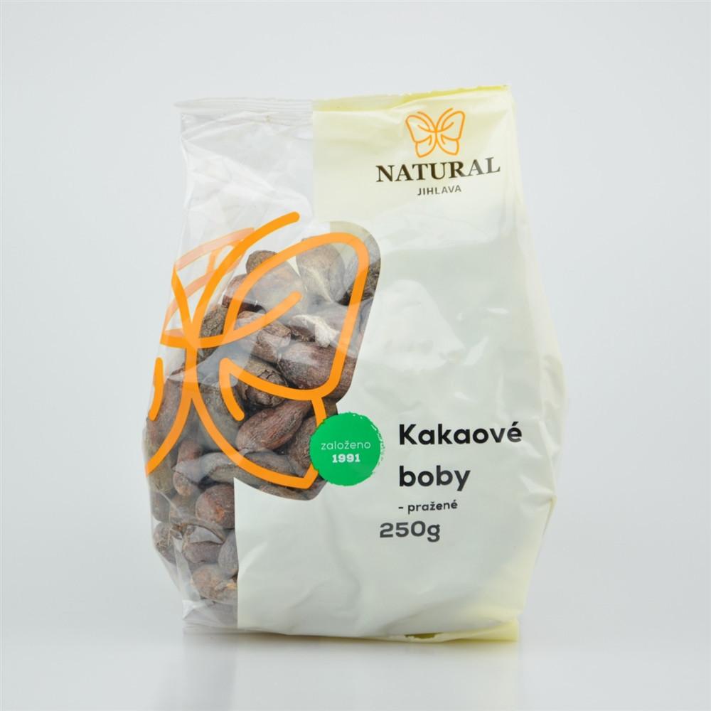 Kakaové boby pražené - Natural 250g