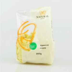 Kakaové máslo - Natural 200g