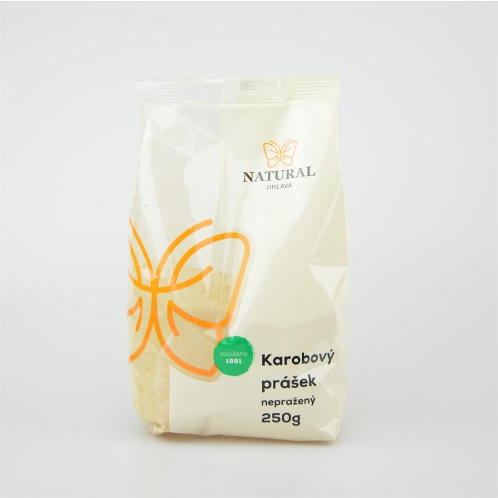 Karobový prášek nepražený - Natural 250g
