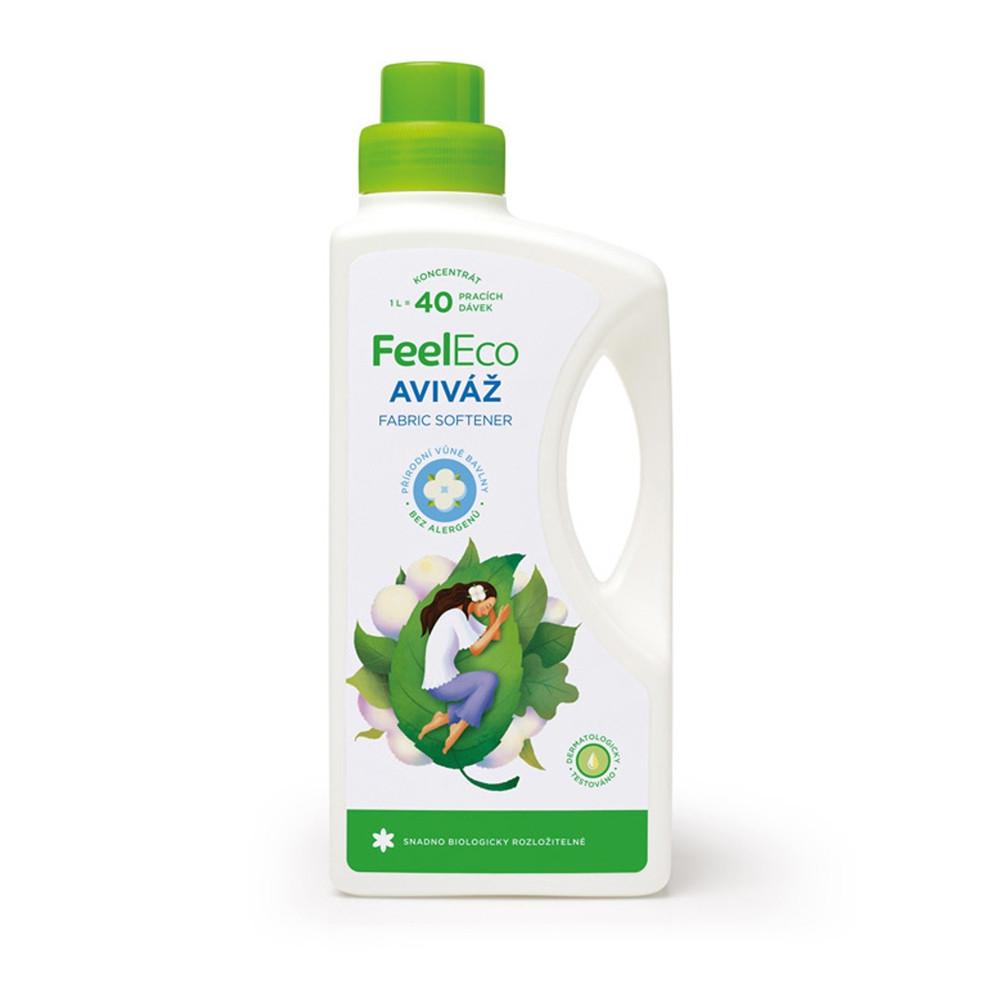 Aviváž s vůní bavlny - Feel Eco 1000ml