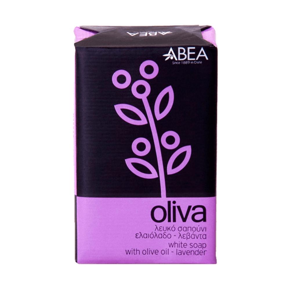 Bílé olivové mýdlo s levandulí - ABEA 125g