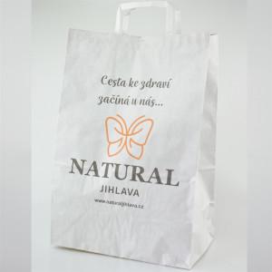 Papírová taška Natural 40x26x15cm
