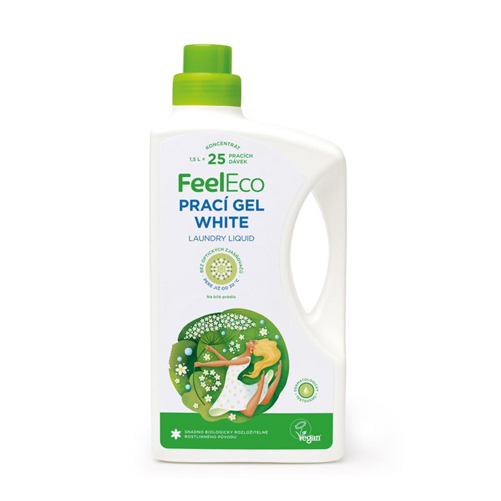 Prací gel na bílé prádlo - Feel Eco 1500ml