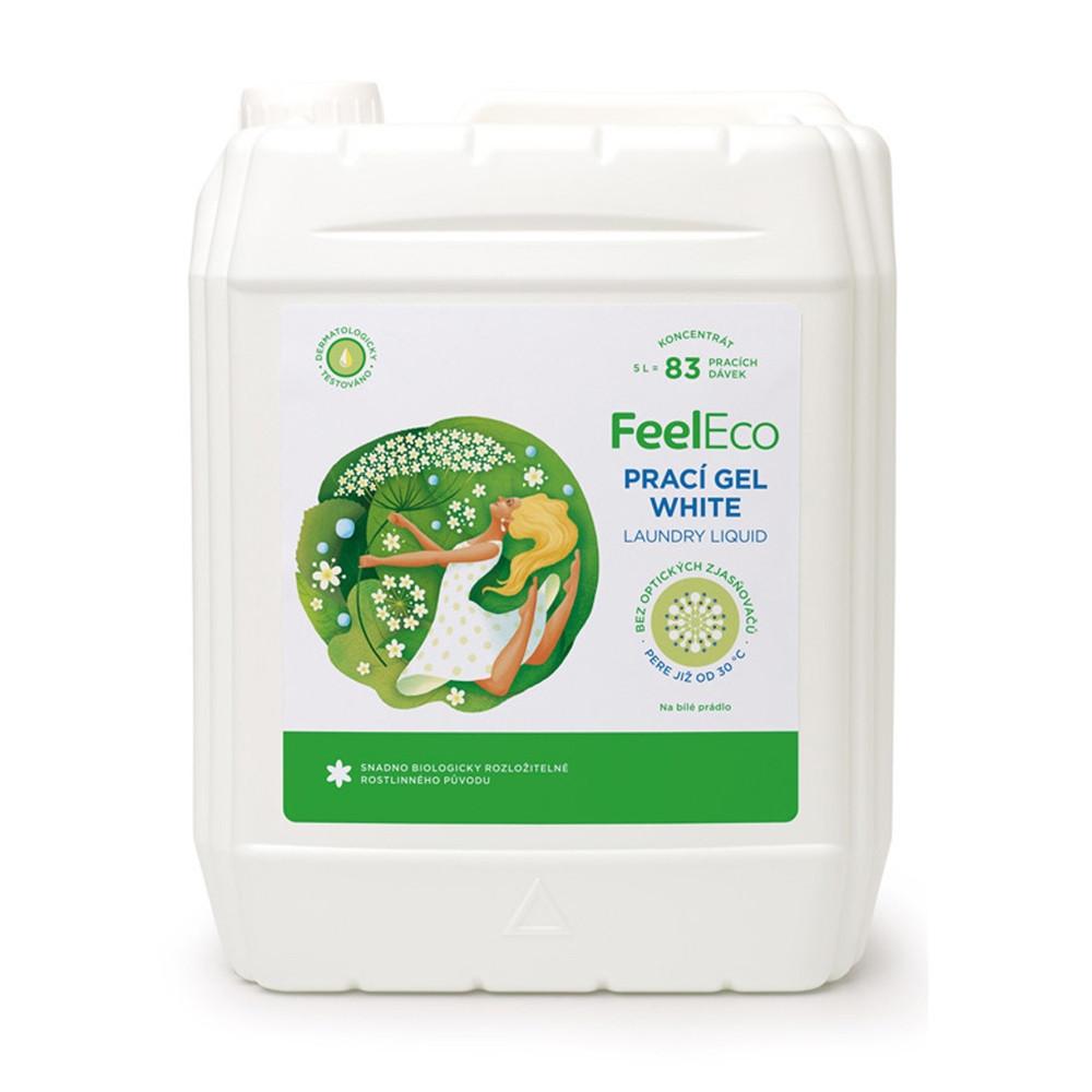 Prací gel na bílé prádlo - Feel Eco 5000ml
