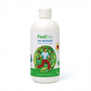 Prostředek na mytí nádobí - malina - Feel Eco 500ml