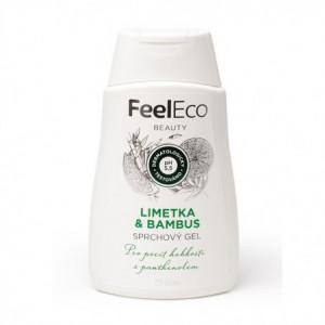 Sprchový gel - limetka & bambus - Feel Eco 300g