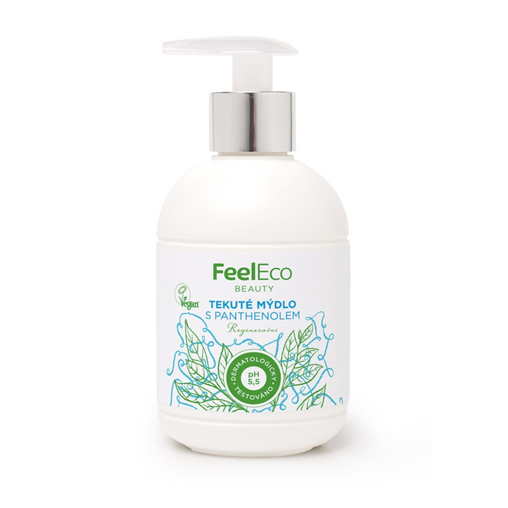 Tekuté mýdlo s panthenolem - Feel Eco 300ml