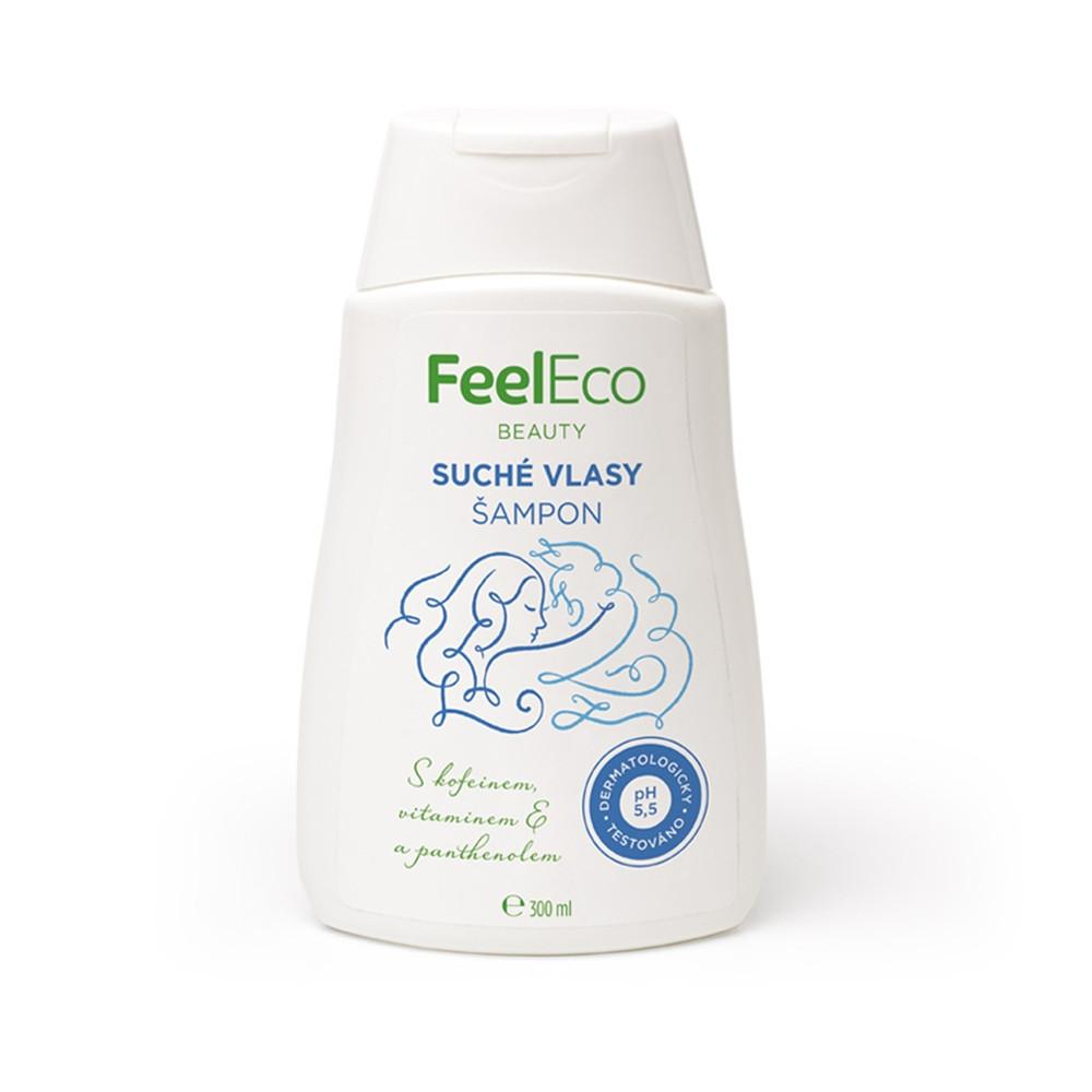 Vlasový šampon na suché vlasy - Feel Eco 300ml