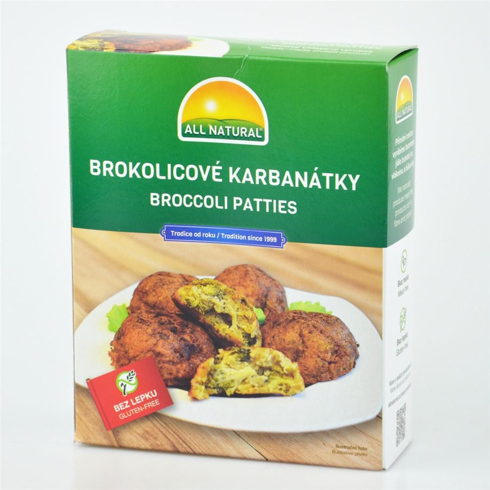 Brokolicové karbanátky - Natural Way 200g