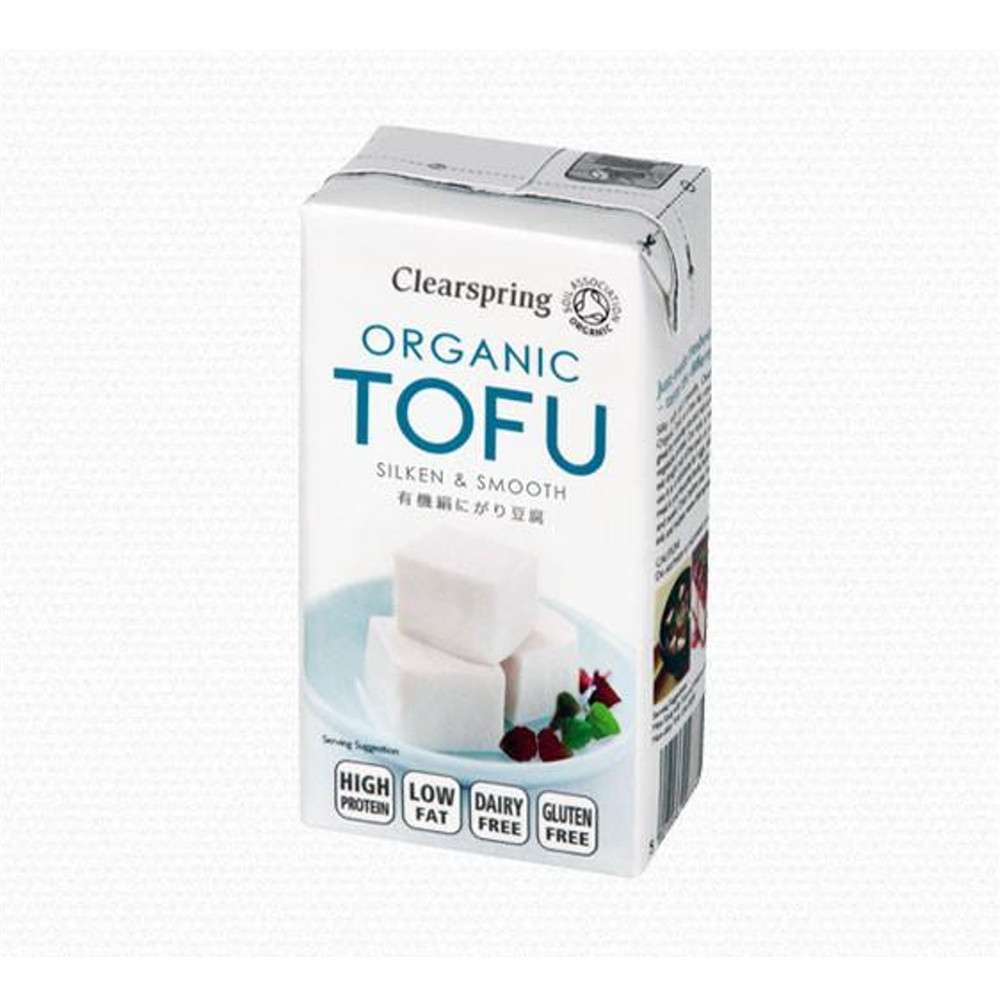 Hedvábné tofu BIO - Clearspring 300g