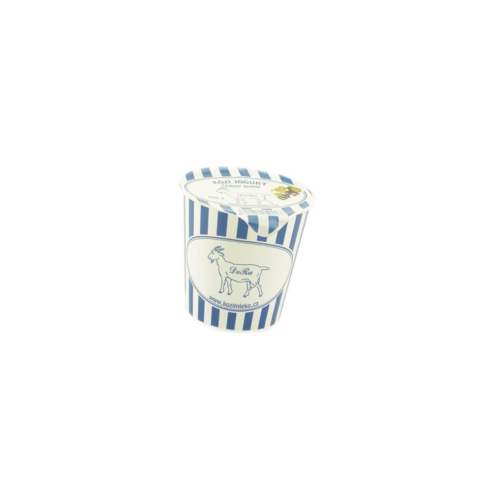 Kozí jogurt černý rybíz - Dora 150g