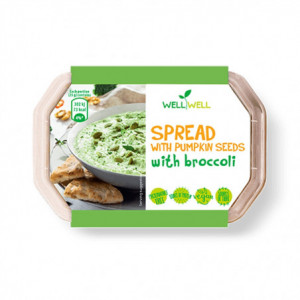 POMAZÁNKA S DÝŇOVÝMI semínky s brokolicí - WELLWELL 125g