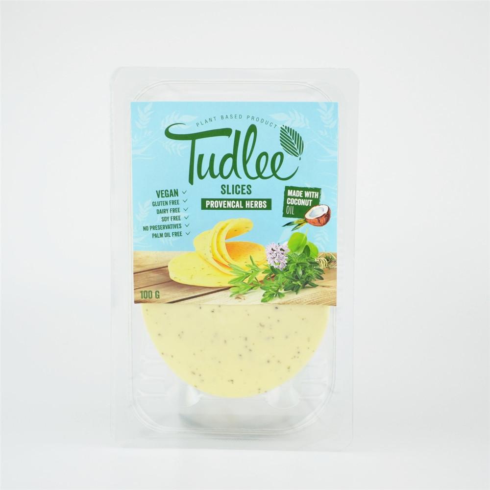 Slices Provencal bylinkový - 100% rostlinná alternativa k sýrům - Tudlee 100g