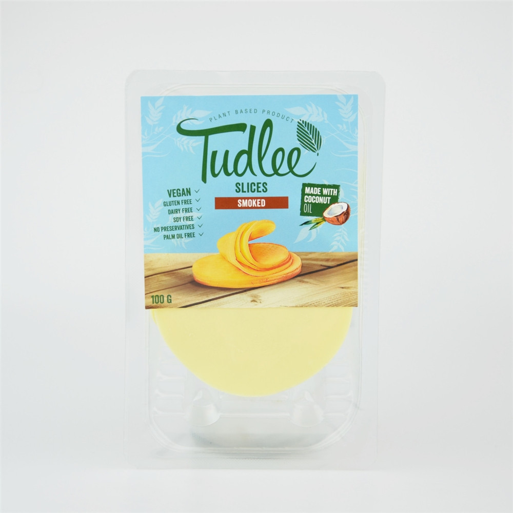 Slices uzený - 100% rostlinná alternativa k sýrům - Tudlee 100g
