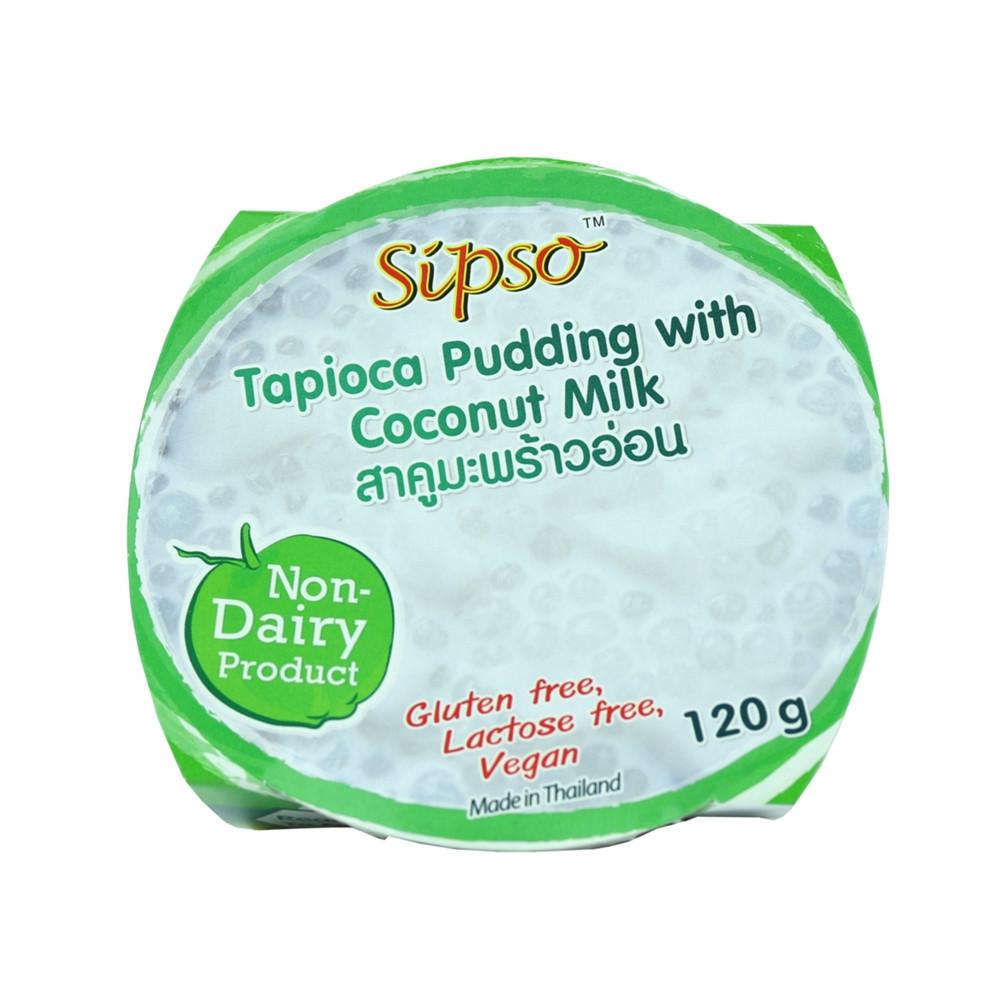Tapiokový puding s kokosovým mlékem - Sipso 120g