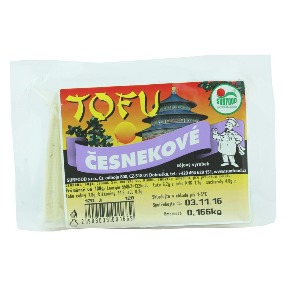 Tofu česnekové - Sunfood 100g